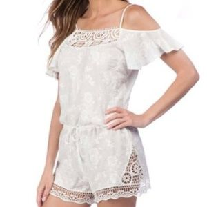 LA BLANCA cover up romper